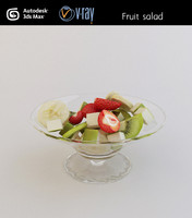 3d model fruit salad