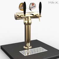3d model beer tower 2