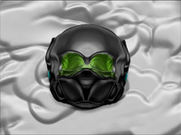 space helmet 3d model