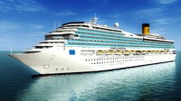 cruise ship costa fortuna 3ds
