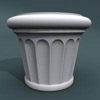 3d designed pottery