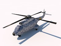 3d 3ds eurocopter as332 super puma
