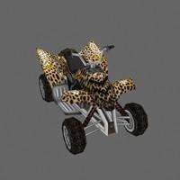 3d atv model