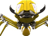 3ds max robot ant