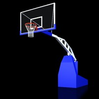 3d supersam basketball backstop