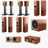 3d bowers wilkins cm series