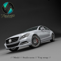 mercedes benz cls 2012 3ds