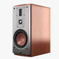 dali mentor 2 speaker 3d model