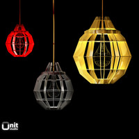 obj cage lamps darestudio