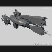 3ds max heavy frigate