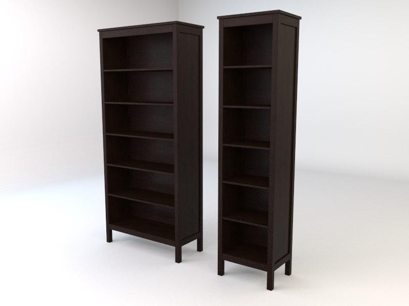 Ikea hemnes livingroom series 3d model for Ikea hemnes wohnzimmerserie