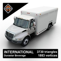 max international durastar beverage delivery truck
