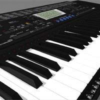 keyboard yamaha psr420 3d model