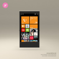 3d smart phone windows model