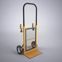 multi purpose sack truck 3d model