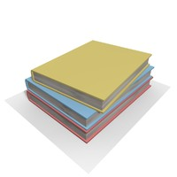 pocket book 3d model
