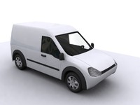 3d connect van car auto