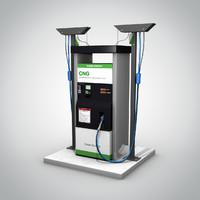 cng pump 3d 3ds