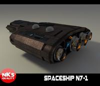 fbx spaceship space