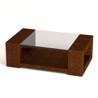 3d garden furniture table model