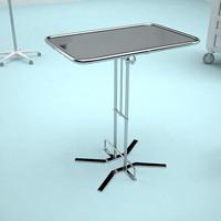 hospital table t
