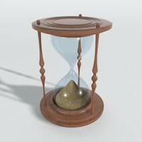classic hourglass obj