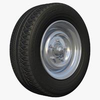 rim rv wheel 3d model