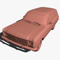 chevrolet opala 3d model