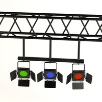 3d stage light