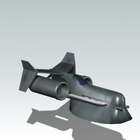 3d space craft spacecraft