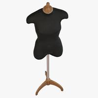 tailors dummies 3d model