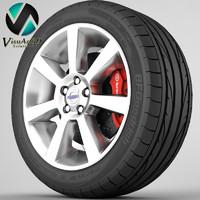 Wheel Volvo S60 4