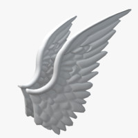obj angel wings
