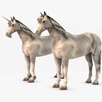 3dsmax unicorn horse