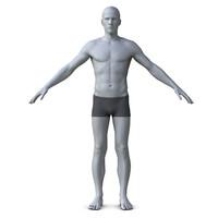 Realistic Man model