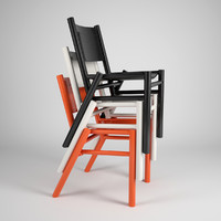 tom dixon peg chair 3d 3ds