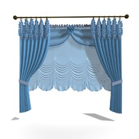 3ds max country curtain