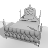 3d double bed