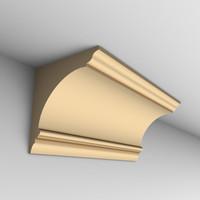 3d interior cornice molding