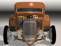 34 chopped sedan hot rod 3d max