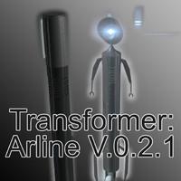 arline v 0 2 3d model
