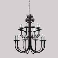 gothic lamp light 3d 3ds