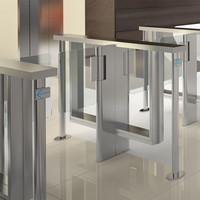 3d model of turnstile