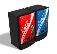 3d soda machines model