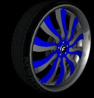 3d forgiato wheel pack v1 model