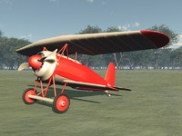 c4d plane fokkers