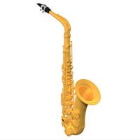 3d alto sax saxophone model