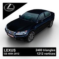 2012 lex gs 450h max