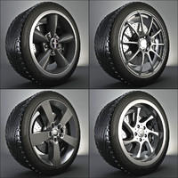 Complete Wheel: Tyre + Brake + Rim