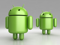 google android 3d model